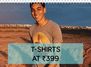 t-shirts under rs 399