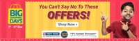 flipkart big shopping days sale upto 80% off on all products