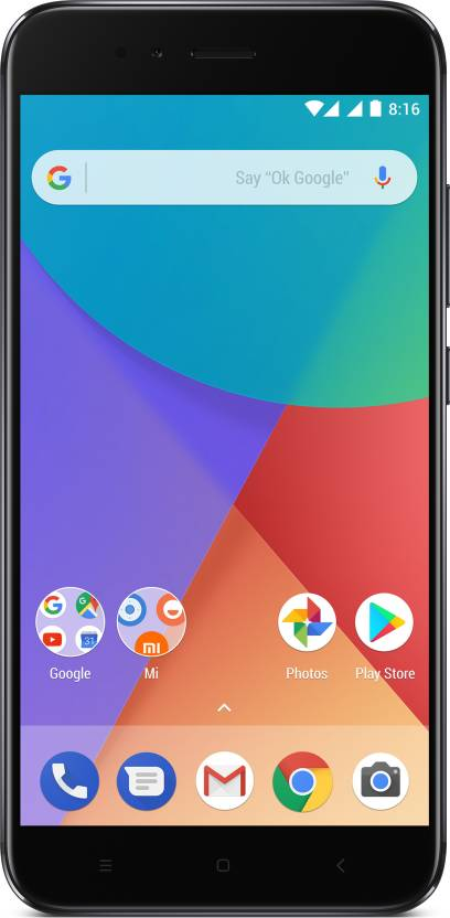 buy mi a1 dual camera  (gold, 64 gb)  (4 gb ram)