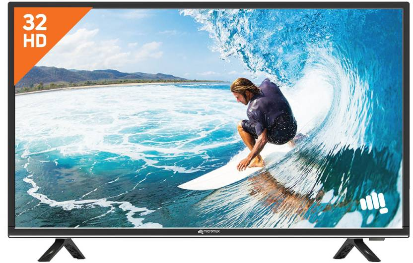 Micromax 81 cm (32 inch) HD Ready LED TV - Just Rs.12,799